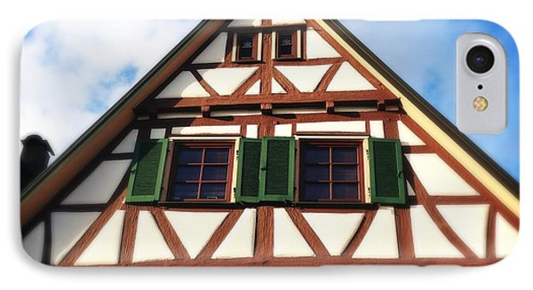 Half-timbered House 02 IPhone Case by Matthias Hauser