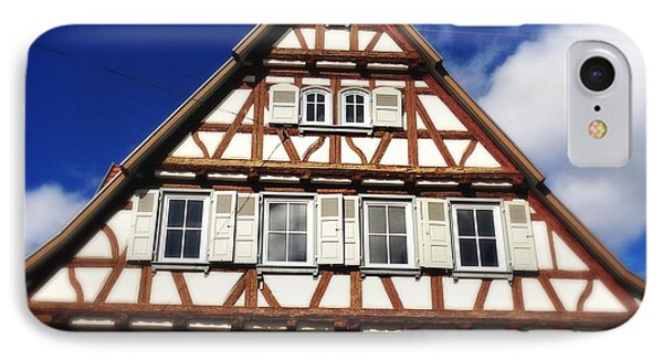 Half-timbered House 03 IPhone Case by Matthias Hauser