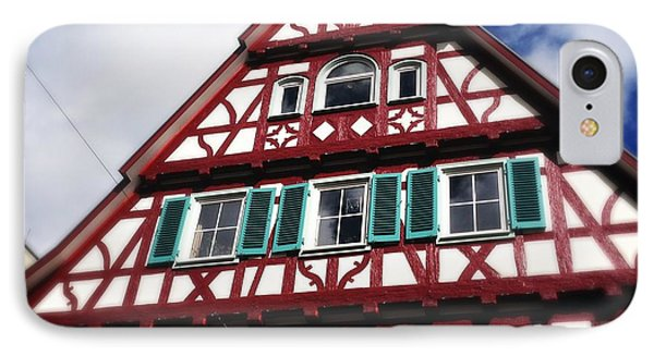 Half-timbered House 04 IPhone Case by Matthias Hauser