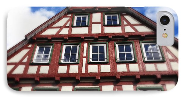 Half-timbered House 05 IPhone Case by Matthias Hauser