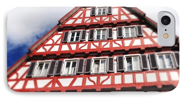 Half-timbered House 06 IPhone Case by Matthias Hauser