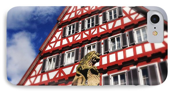 Half-timbered House 07 IPhone Case by Matthias Hauser