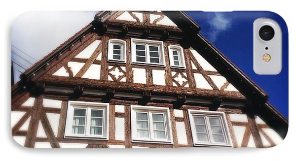 Half-timbered House 08 IPhone Case by Matthias Hauser