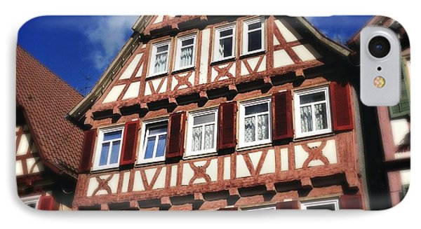 Half-timbered House 10 IPhone Case by Matthias Hauser