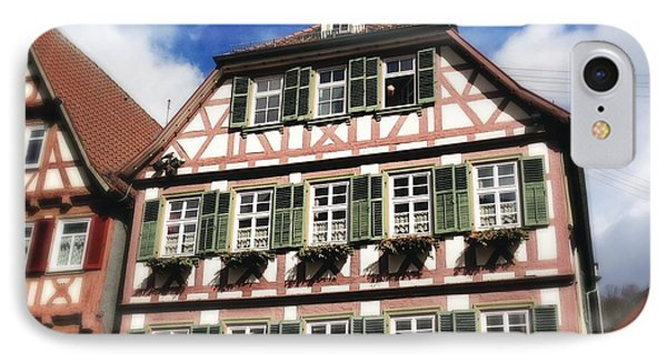 Half-timbered House 11 IPhone Case by Matthias Hauser