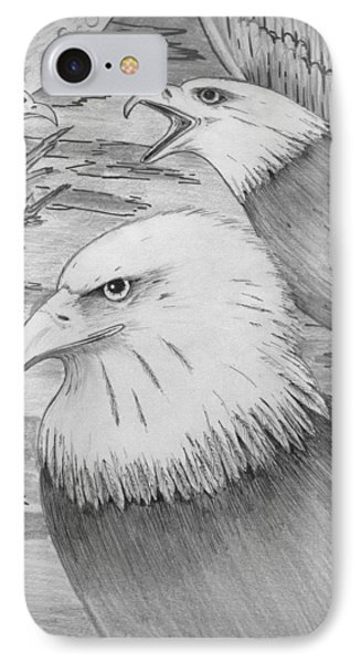 Haliaeetus Leucocephalus Named By Roger Swezey IPhone Case