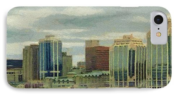 Halifax From The Harbour Phone Case by Jeff Kolker