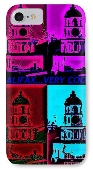 Halifax Very Cool Pop Art Phone Case by John Malone
