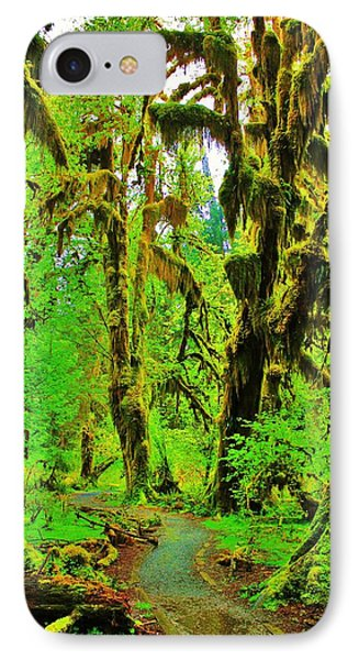 Hall Of Moss Phone Case by Benjamin Yeager