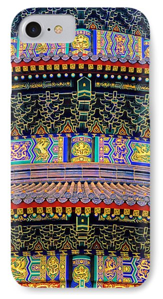 Hall Of Prayer Detail IPhone Case by Dennis Cox ChinaStock