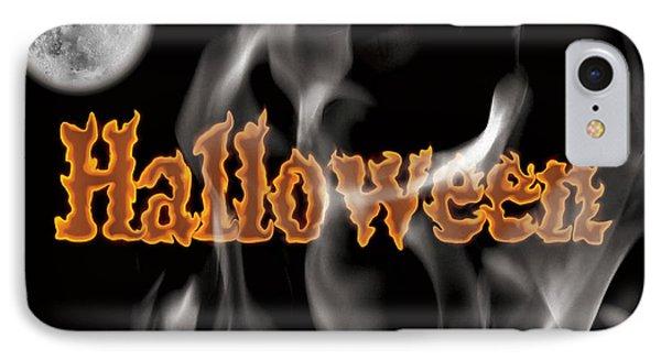 Halloween IPhone Case by Angela Pelfrey