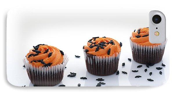 Halloween Cupcakes IPhone Case by Juli Scalzi