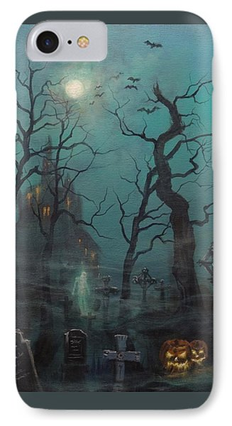 Halloween Ghost Phone Case by Tom Shropshire