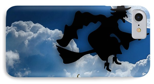Halloween Night Is Approaching IPhone Case by Marvin Blaine