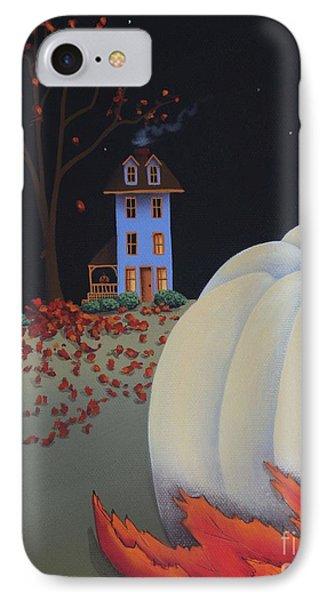 Halloween On Pumpkin Hill Phone Case by Catherine Holman