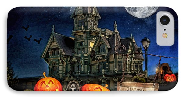 Halloween Spot Phone Case by Mo T
