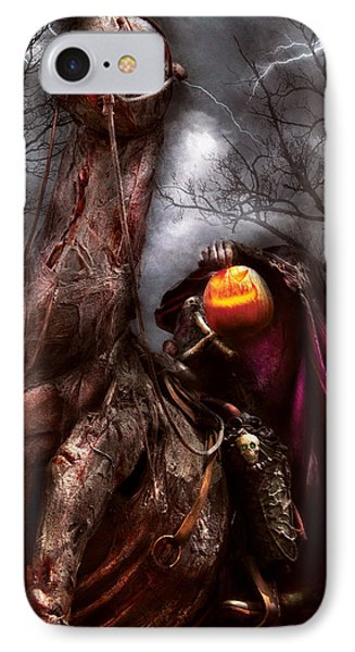 Halloween - The Headless Horseman IPhone Case by Mike Savad