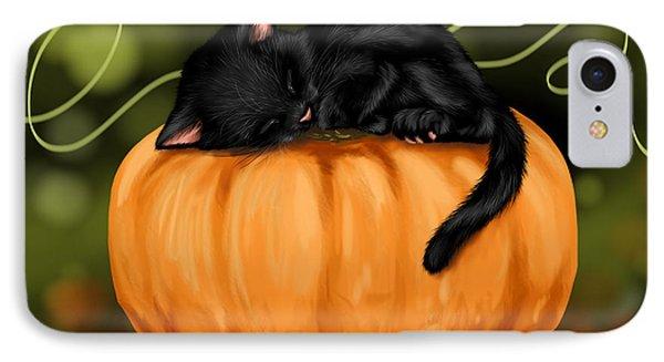 Halloween IPhone Case by Veronica Minozzi