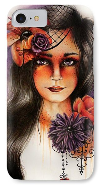 Hallows Eva IPhone Case by Sheena Pike