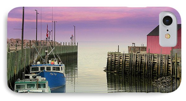 Halls Harbour Evening IPhone Case by Brian Chase