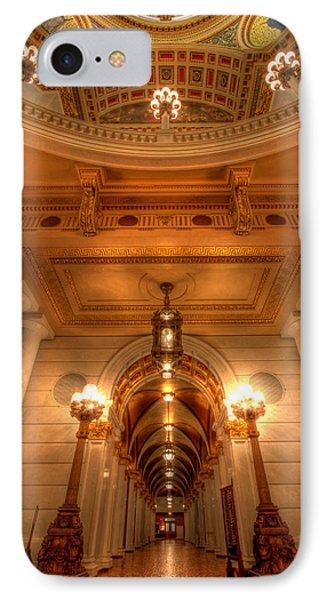 Halls Of Gold Phone Case by Lori Deiter