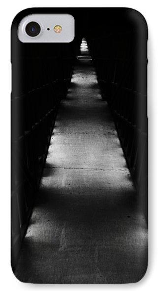 Hallway To Nowhere Phone Case by Christi Kraft