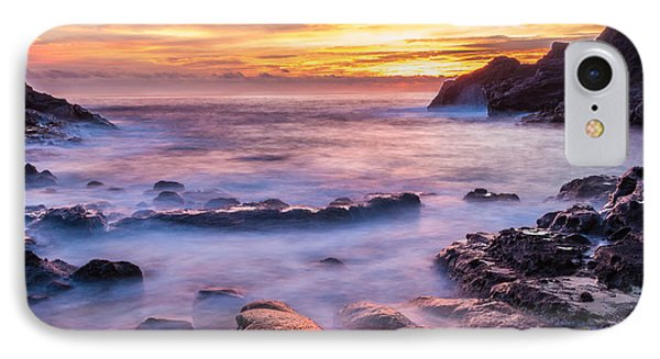 Halona Cove Sunrise 3 IPhone Case