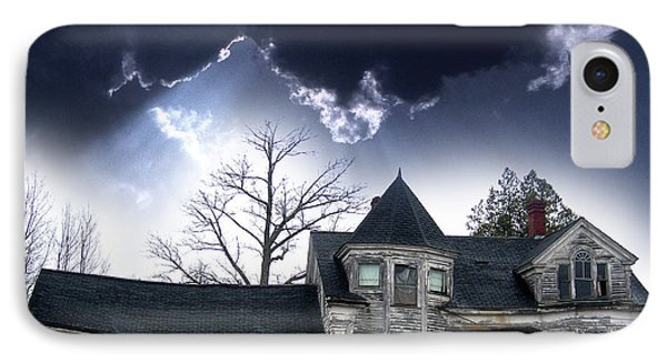 Haloween House Phone Case by Skip Willits