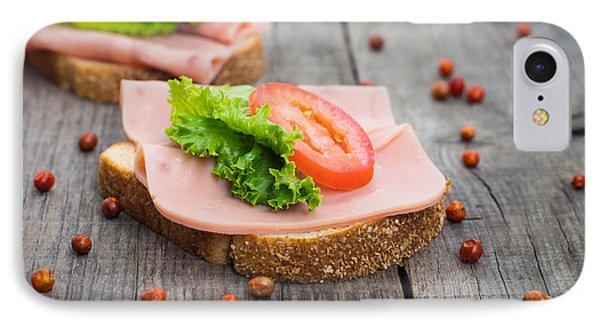 Ham Sandwich IPhone Case