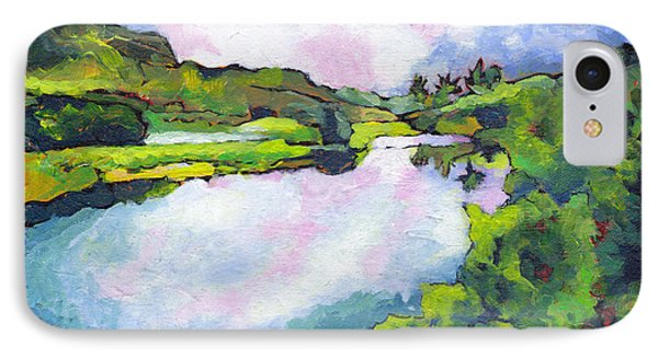 Hamakua Swamp IPhone Case by Angela Treat Lyon