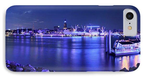 Hamburg Blue Port Panorama IPhone Case