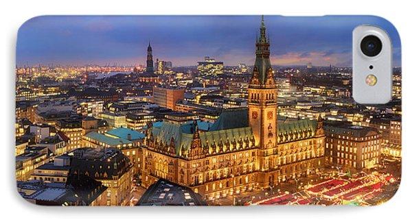 Hamburg Christmas Market IPhone Case