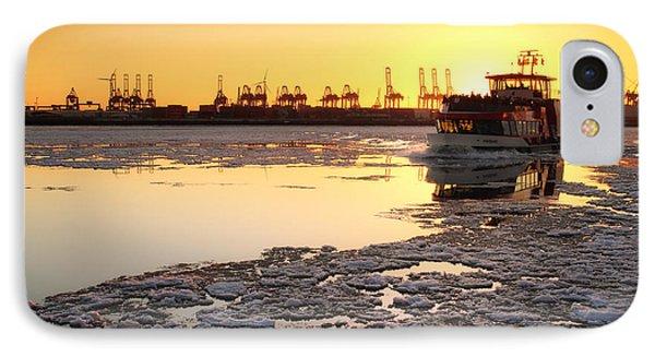 Hamburg Golden Winter IPhone Case