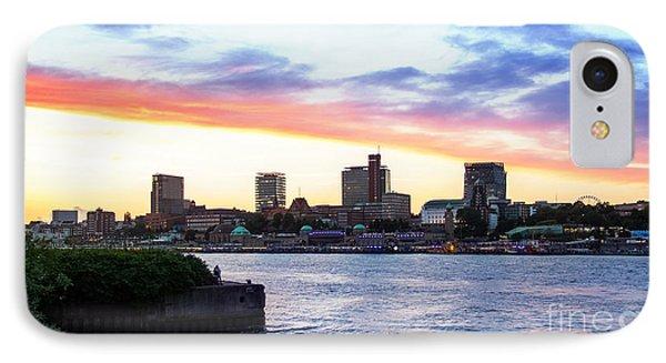 Hamburg Riverside IPhone Case