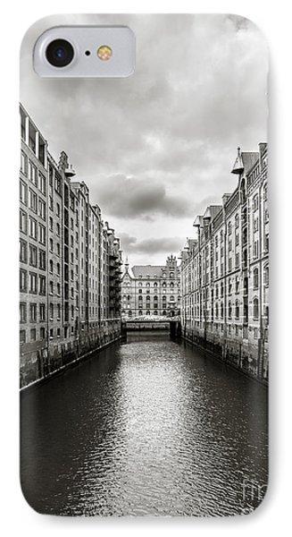 Hamburg Speicherstadt IPhone Case
