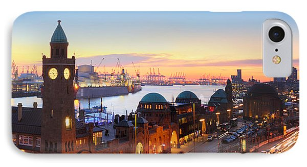 Hamburg St. Pauli Piers IPhone Case