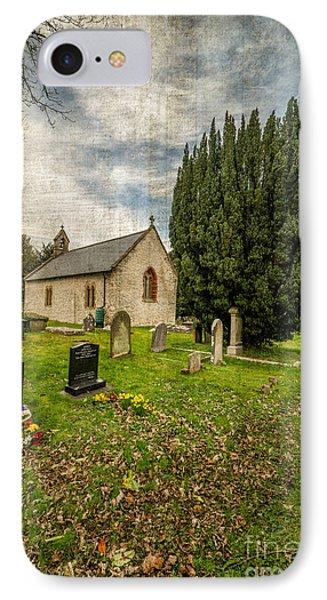 Hamlet Church IPhone Case by Adrian Evans