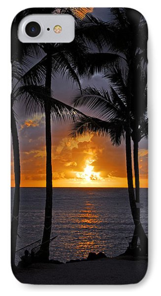 Hammock Sunset Phone Case by Lynn Bauer