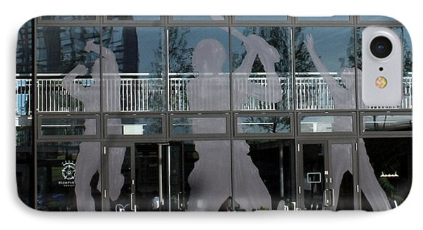 Hampshire County Cricket Glass Pavilion Phone Case by Terri Waters
