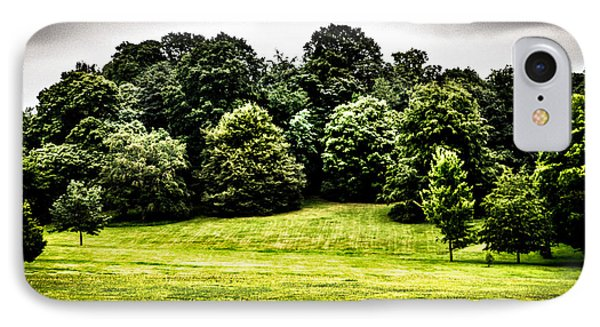 Hampstead Heath Greens IPhone Case by Lenny Carter