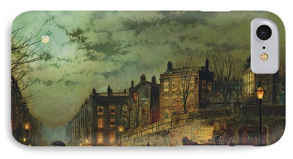 Hampstead Hill, Looking Down Heath Street, 1881 IPhone Case