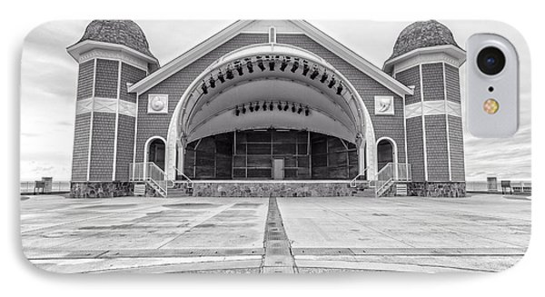 Hampton Beach Bandstand Stage IPhone Case by Edward Fielding