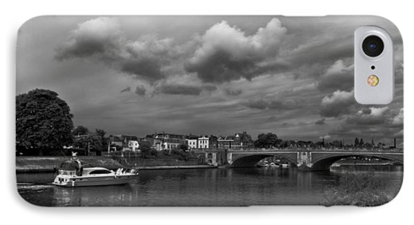 Hampton Bridge IPhone Case by Maj Seda