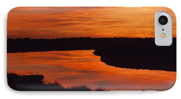 Hampton Marsh - Hampton New Hampshire Usa IPhone Case by Erin Paul Donovan