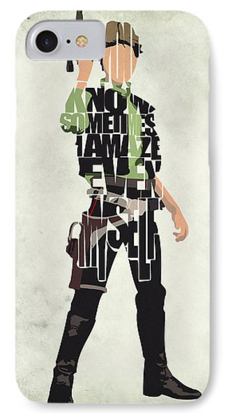 Han Solo Vol 2 - Star Wars IPhone Case by Ayse Deniz