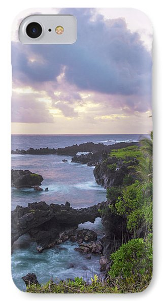 Hana Arches Sunrise 3 - Maui Hawaii IPhone Case