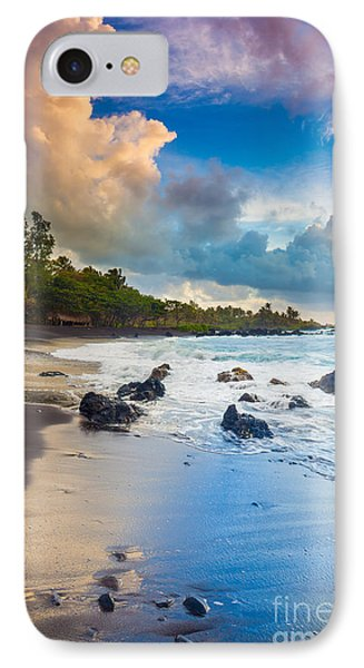 Hana Bay Palette IPhone Case by Inge Johnsson