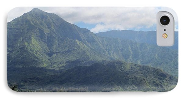 IPhone Case featuring the photograph Hanalei Bay by Alohi Fujimoto