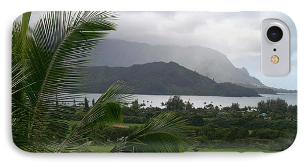 Hanalei Bay On The North Shore Of Kauai IPhone Case by David R. Frazier