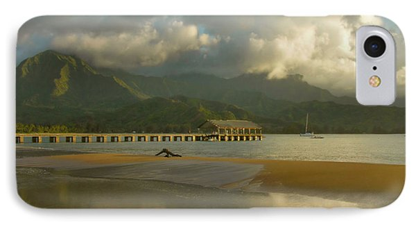 Hanalei Bay Reflections - Kauai IPhone Case
